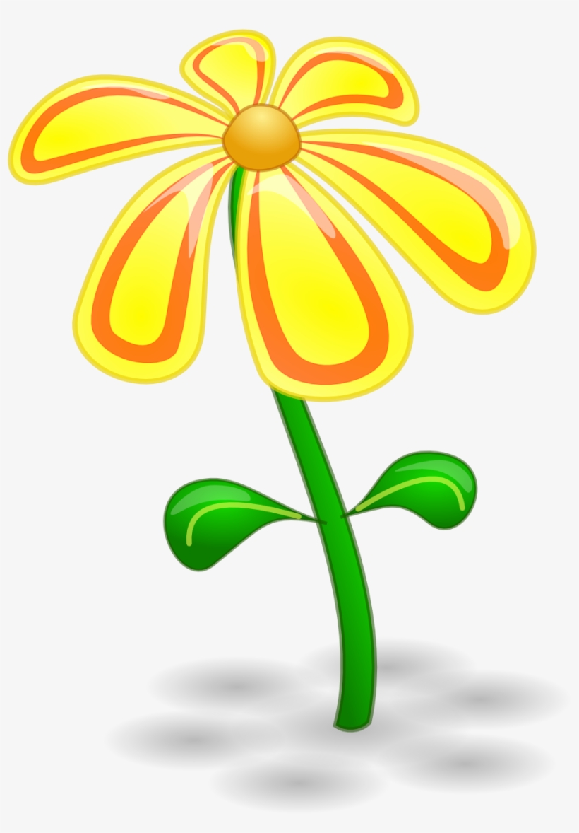 2018 Flower Clipart Black And White Free Download Yellow Flower