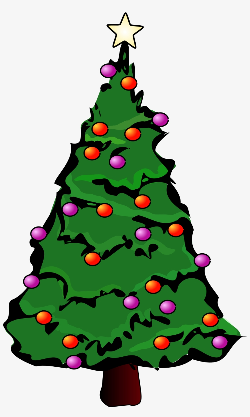 Christmas Tree Greeting Cards, transparent png #8106
