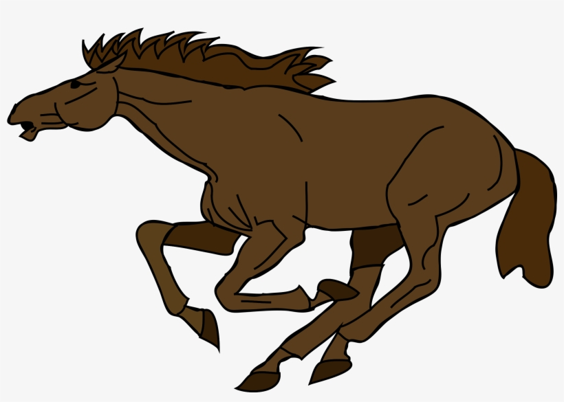 Running Horse Clipart At Getdrawings - Horse Running Clipart, transparent png #8183