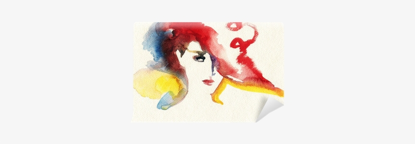 Abstract Watercolor - Watercolor Painting, transparent png #8207
