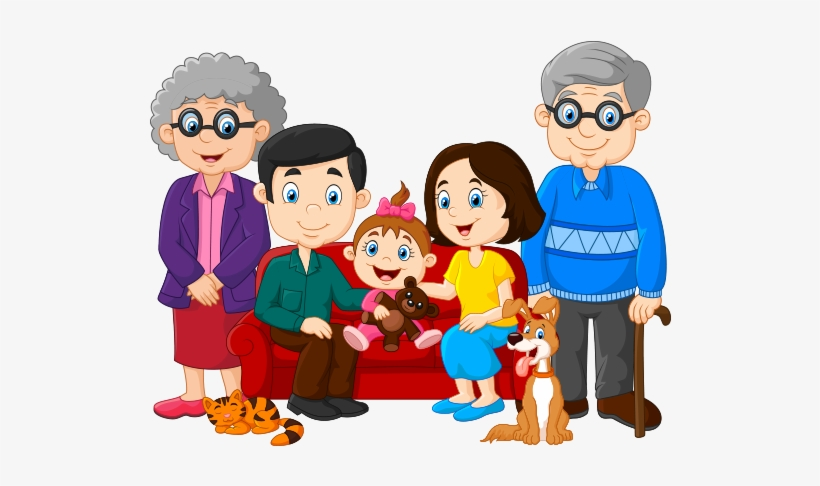 Clip Download Free Photo - Happy Family Pictures Animated, transparent png #823