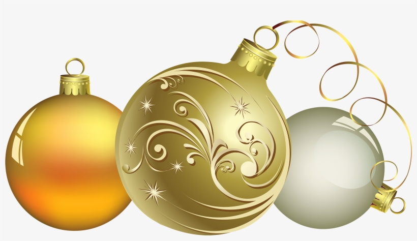 Christmas Ball Decor Png Clipart Transparent Background