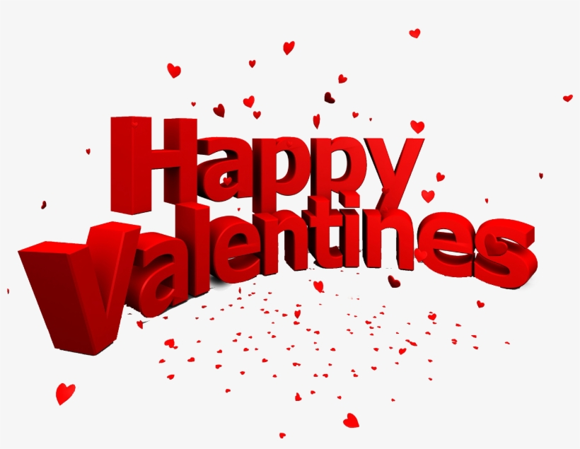 Happy Valentines Day Png Image Free Download - Happy Valentine Day Png, transparent png #9365