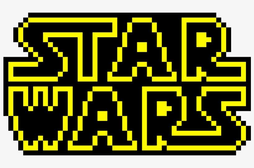 Star Wars Logo Pixel Art Free Transparent Png Download