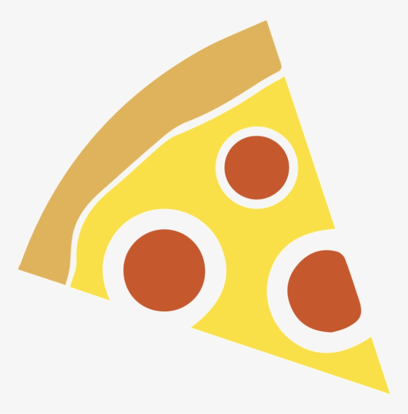 Pizza Slice Vector Icon - Pizza Slice Vector Png, transparent png #9903
