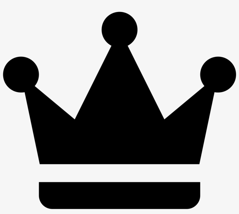 Crown Icon Vector Illustration - Crown Icon, transparent png #990