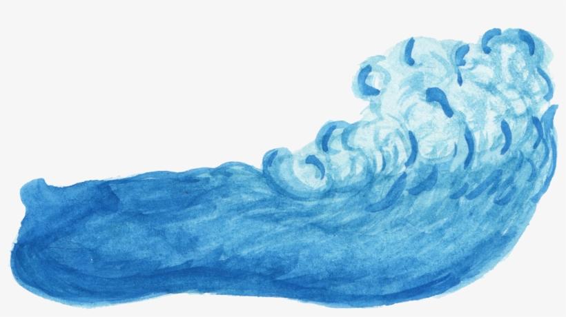 Wave Png Transparent - Water Color Water Png, transparent png #9947