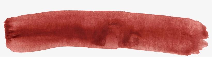 Red Transparent Stickpng Download - Paint Banner Transparent, transparent png #9975