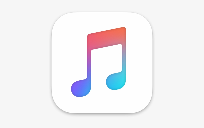 Apple Music Icon - Apple Music Logo Note, transparent png #10172