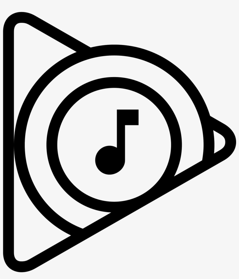 Google Play Music Icon Png - Play Music Icon Png, transparent png #10282