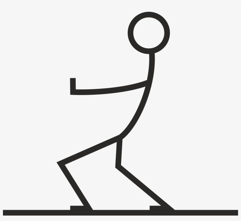 Stick Figures Png - Stick Figure Pulling, transparent png #10425