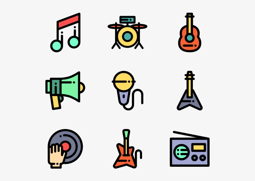 Music Icons - Music Icon Png - Free Transparent PNG Download