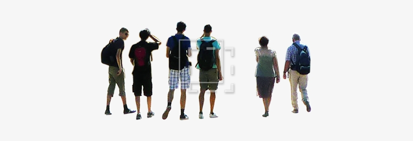 A Small Group Of People - Group People Png, transparent png #10961