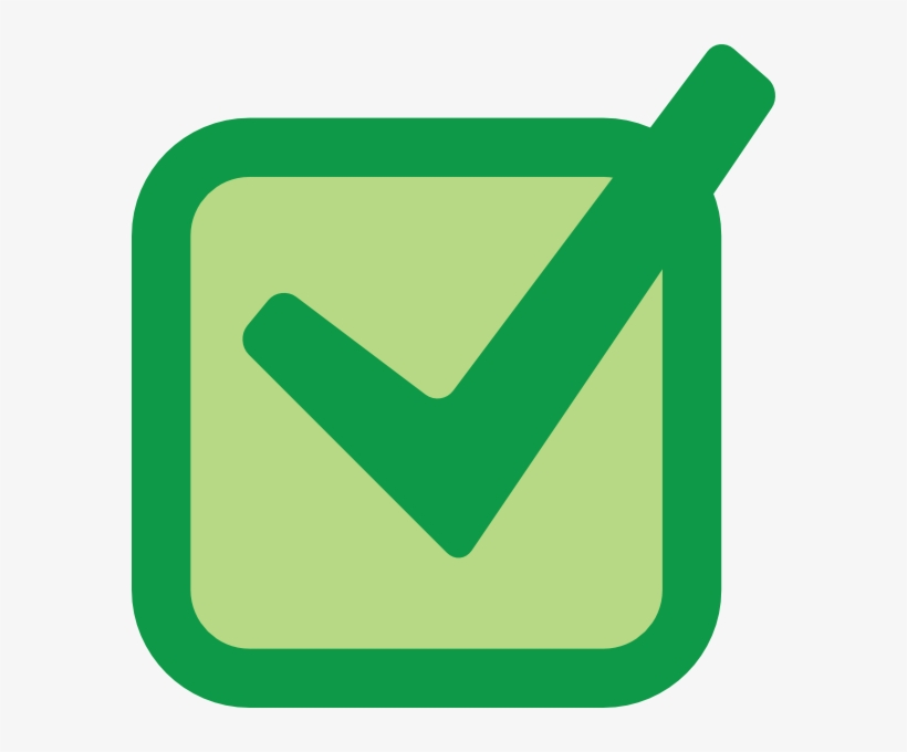 Graphic Free Library Checkmark Clipart Checkmart - Green Tick In A Box, transparent png #11175