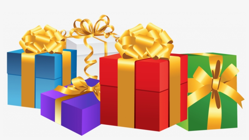 Presents Png Library Library Free Download On Melbournechapter - Birthday Gift Box Png, transparent png #11198