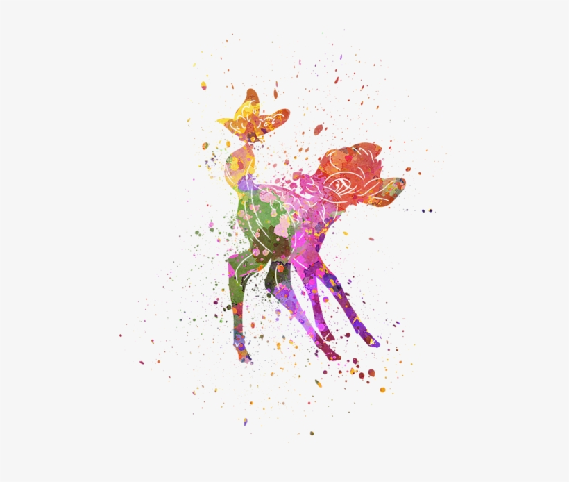 Bleed Area May Not Be Visible - Bambi Art, transparent png #11226