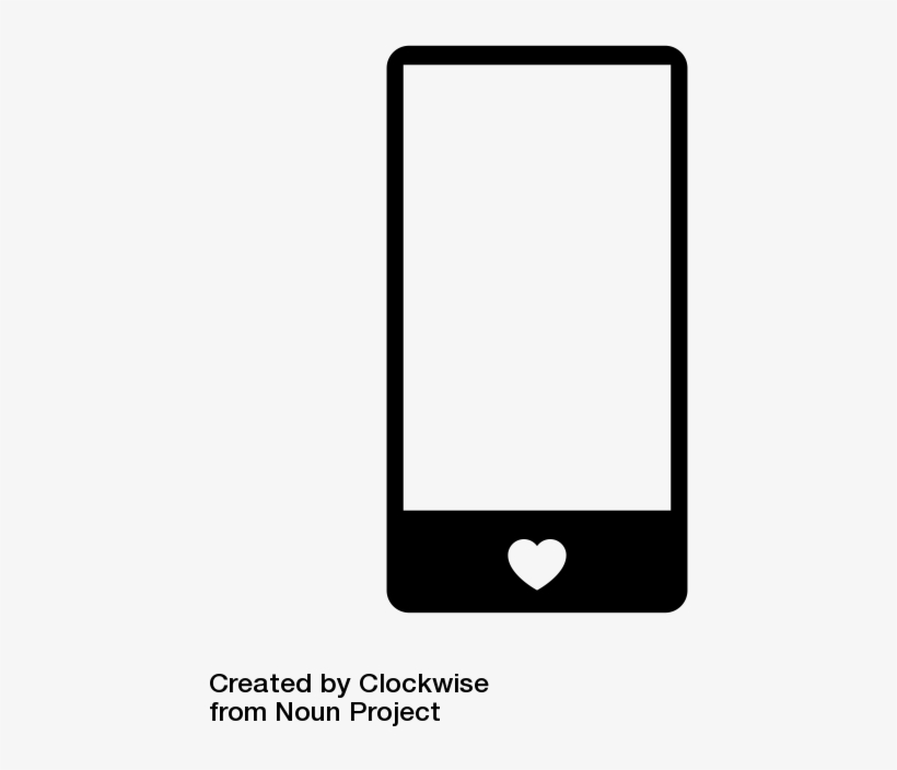 Check Out Cell Phone Icon Designed By Clockwise On - Mobile Device, transparent png #11539