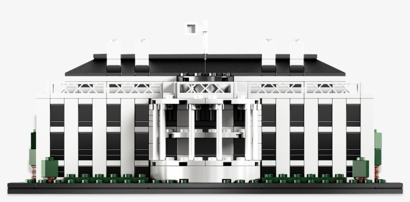 White House Png - Lego White House, transparent png #11950