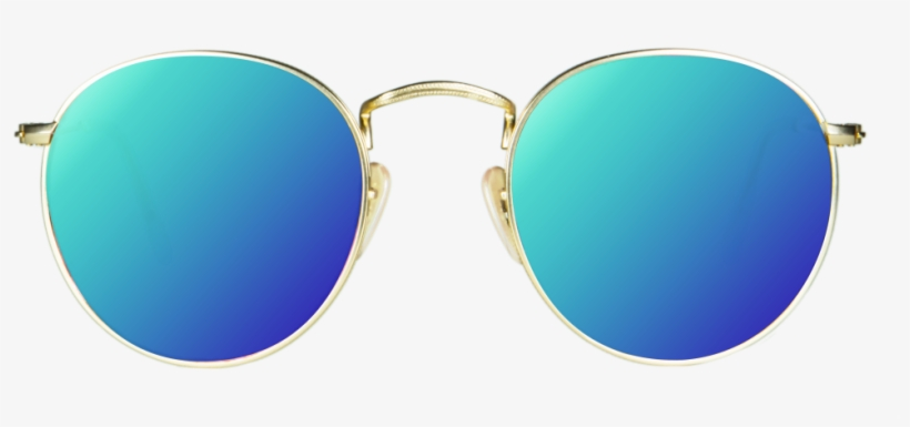 March 08, - Aviator Sunglasses Png Blue, transparent png #12307