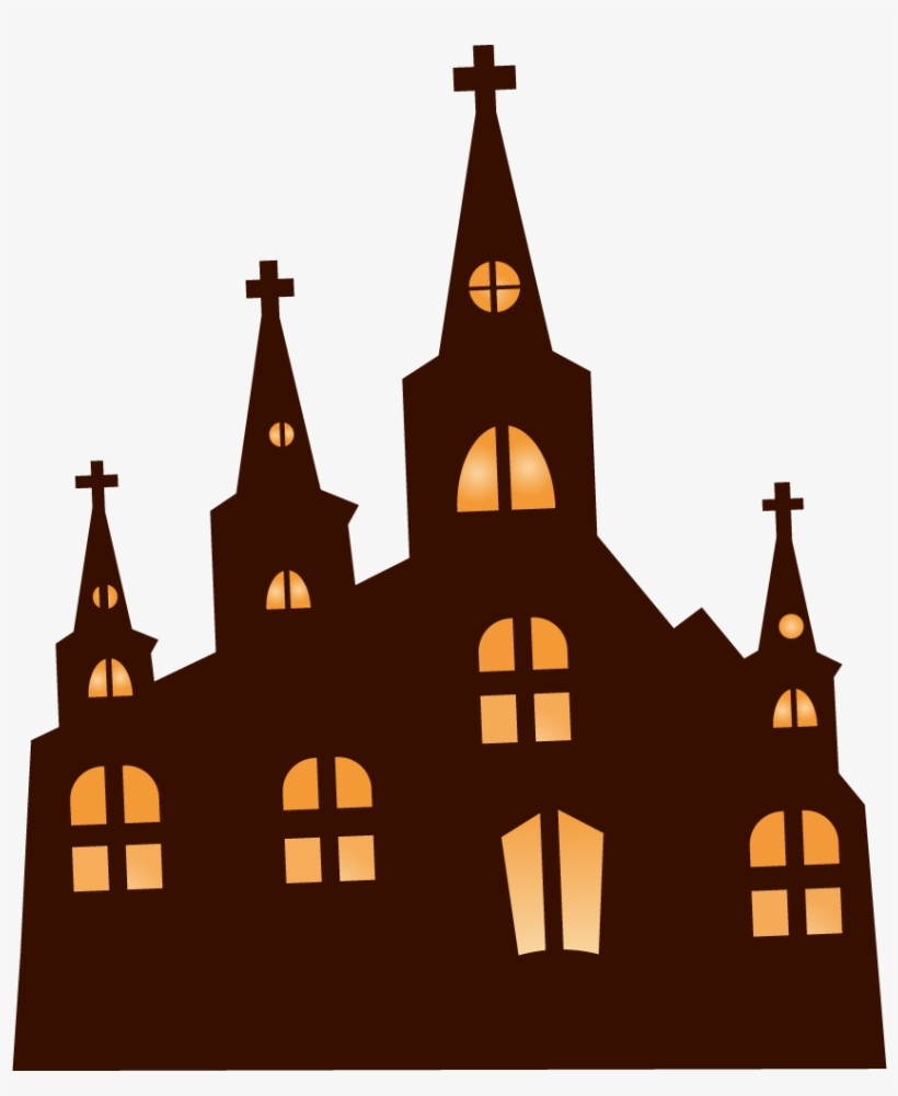 Church Clipart Haunted - Happy Halloween Banner Sign 3 X 5 Ft By Bannerbuzz, transparent png #12515