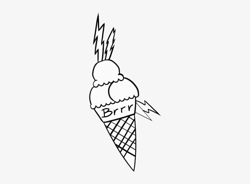 Gucci Mane Ice Cream Png , Drawing , Free Transparent PNG