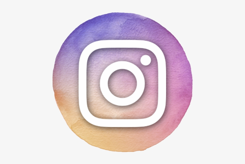 Follow Me On Instagram - Watercolor Instagram Logo Png, transparent png #13113