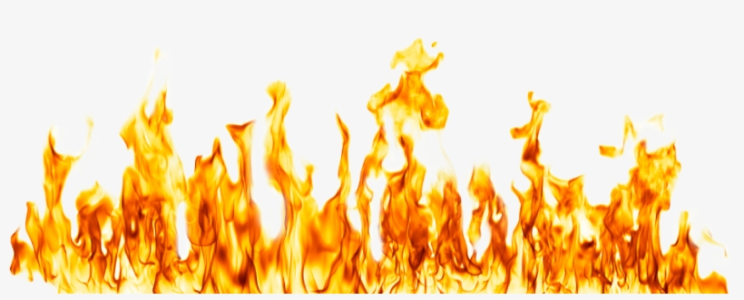 Fire Flame Transparent Background - Transparent Background Fire Png, transparent png #14165