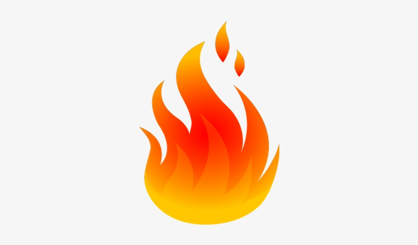 Fire Flames Clipart Png, transparent png #14309