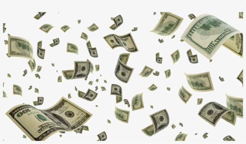 Money Png Falling - Money Falling Transparent Background, transparent png #14330