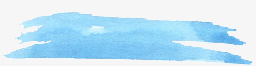 Free Download - Light Blue Paint Stroke, transparent png #14817