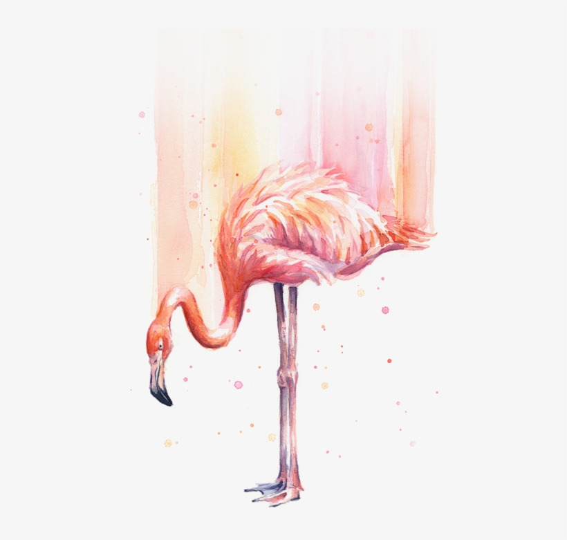Click And Drag To Re-position The Image, If Desired - Art Flamingo, transparent png #15221