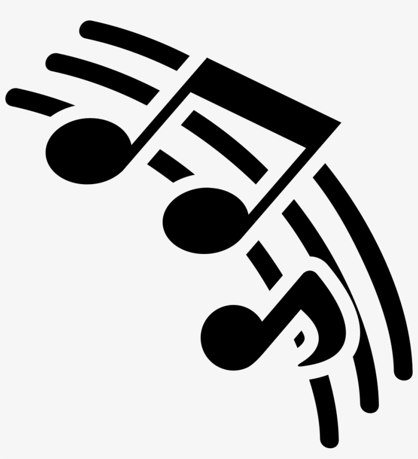 Musical Pentagram Lines With Music Notes Comments - Musical Icon, transparent png #15877