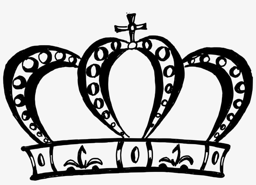 Free Download - Crown Png Black, transparent png #15881