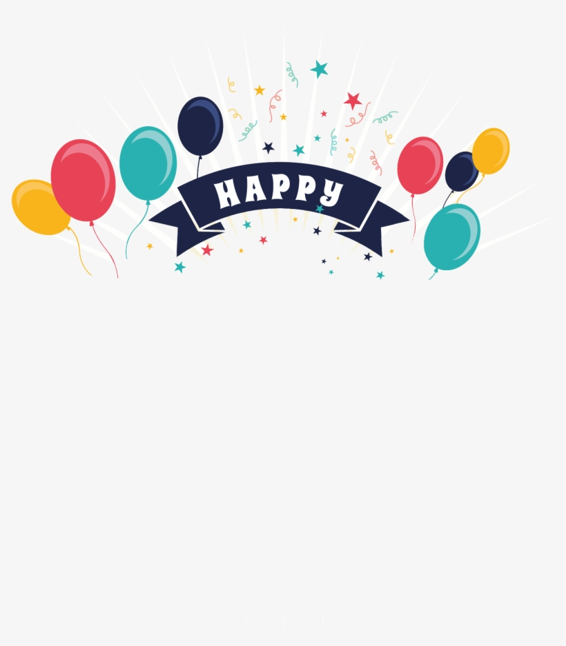 Happy Birthday Png Free Download - Png Free Happy Birthday, transparent png #16185