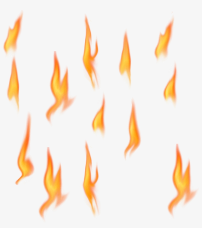 Flame Fire Png - Transparent Background Clip Art Fire, transparent png #16370