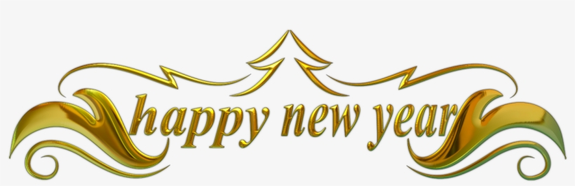 Happy New Year Png Transparent Happy New Year - Happy New Year 2018 Banner Png, transparent png #16847
