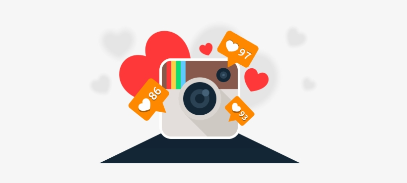 Instagram Clipart Instagram Like - Instagram Likes, transparent png #16962