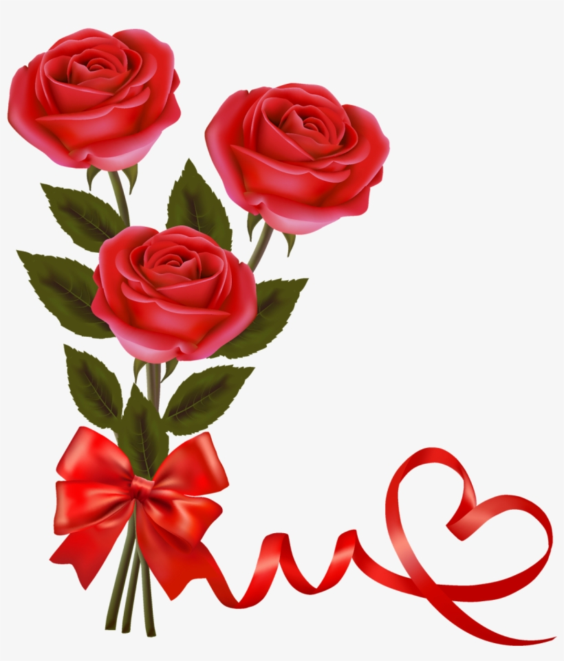 Red Rose Png Flower Image Tag - Love Red Roses Png, transparent png #17042