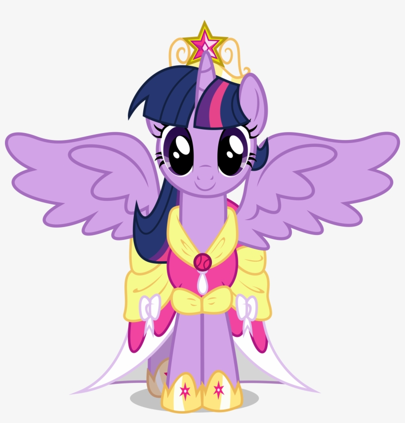 Fanmade Princess Twilight Sparkle - Princess Twilight Sparkle Pony, transparent png #17281
