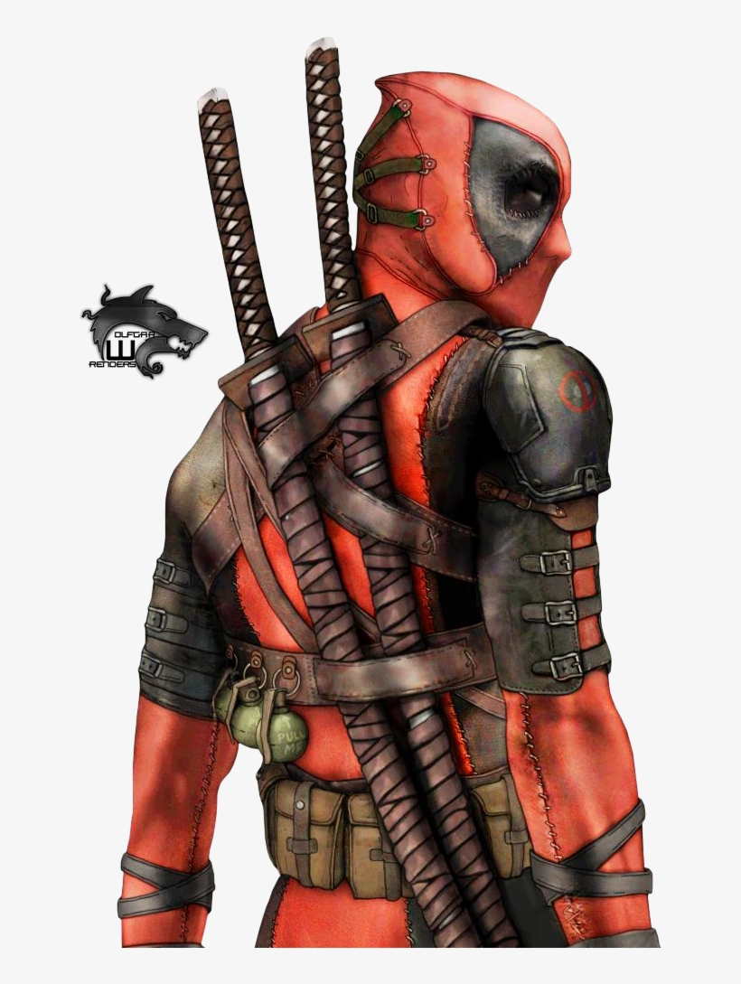 Deadpool Render By Keithchildress On Deviantart Marvel Art