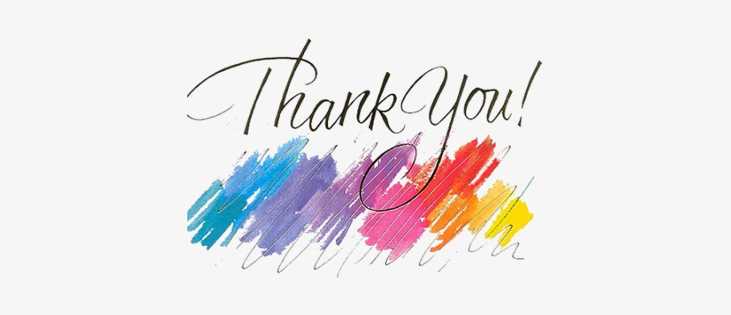 Thank You Png Clipart Background Power Point Simple Free