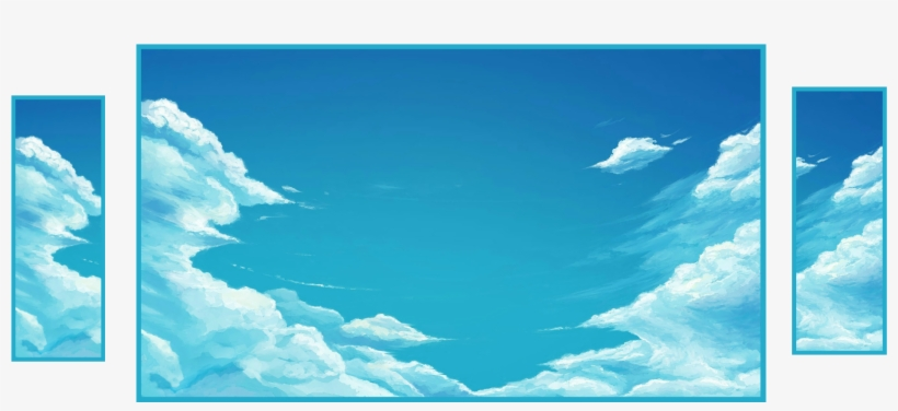 319089 Drawing Sky Clouds - 1080p Sky High Resolution - Free