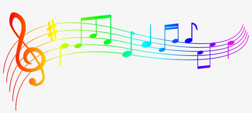 Colorful Music Notes Png - Music Notes Png Transparent, transparent png #17847