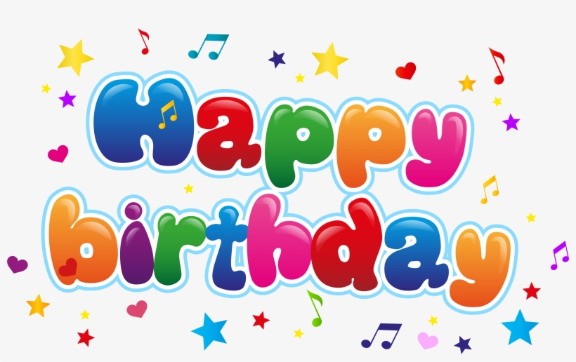 Cute Happy Birthday Png Clip Art Image - Happy Birthday Image Hd, transparent png #17908