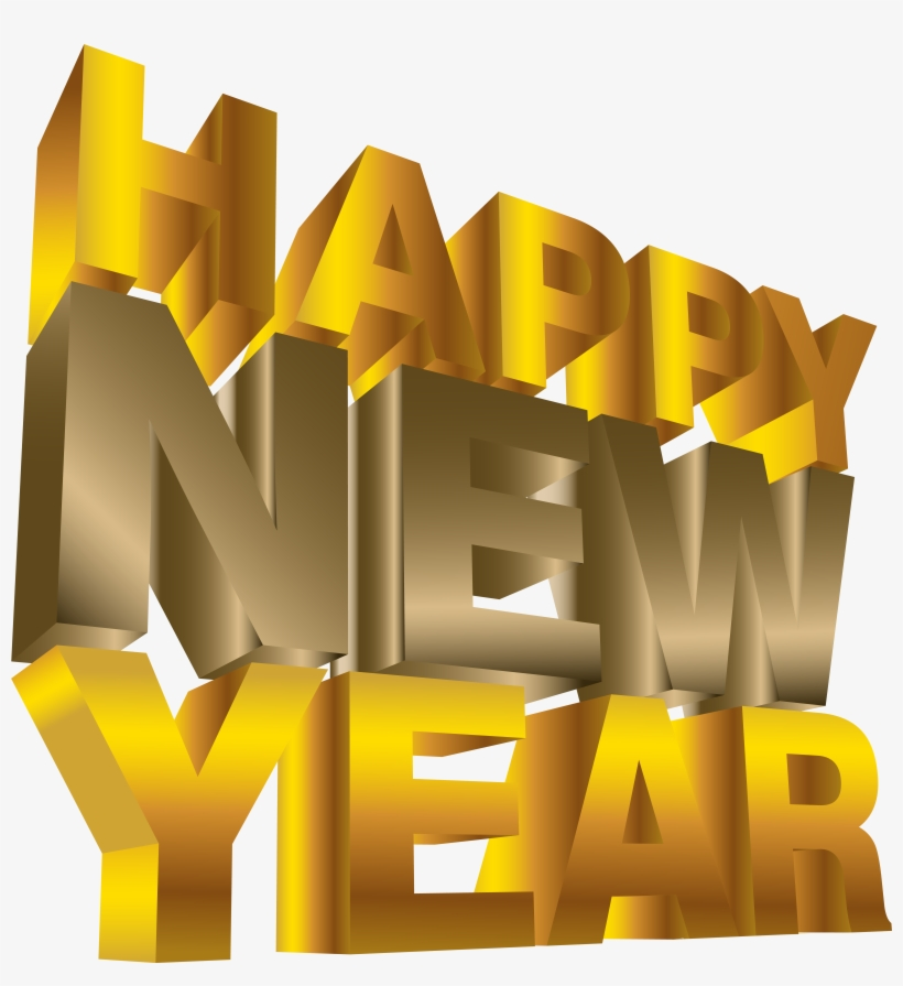 Happy New Year Png Clip Art Image - Happy New Year Png, transparent png #18505