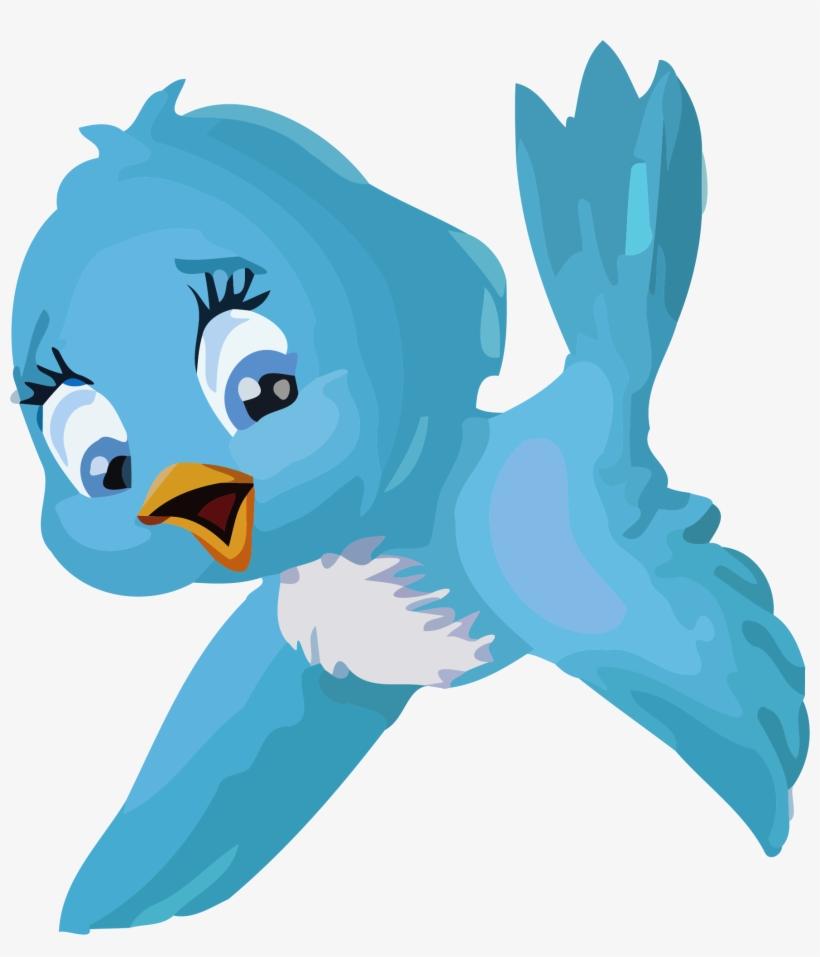 Fairy Bird Png Photos - Snow White Blue Bird, transparent png #18918