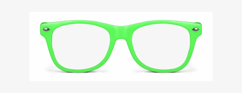 Neon Sunglasses Png - Neon Green Sunglasses Png, transparent png #18941