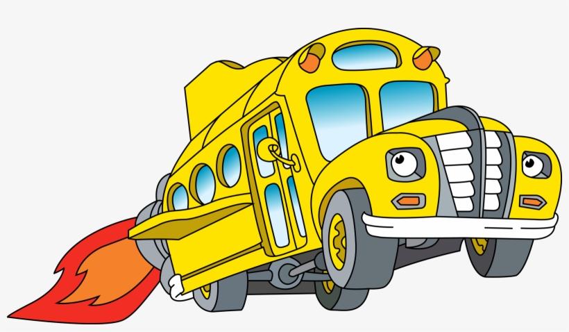 The Magic School Bus - Magic School Bus Png, transparent png #100187