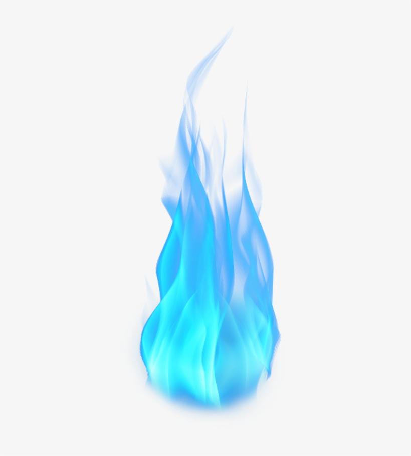 Fire Blue Flames Lit Colored - Blue Flames Png Transparent, transparent png #100718