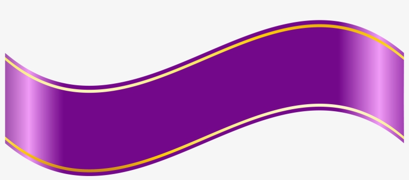 Purple Banner Png Clipartu200b Gallery Yopriceville - Purple Ribbon Banner Png, transparent png #100887